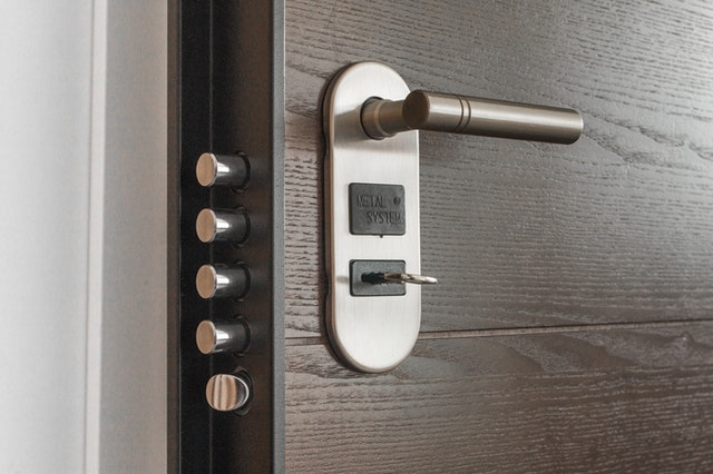 proper locks and security